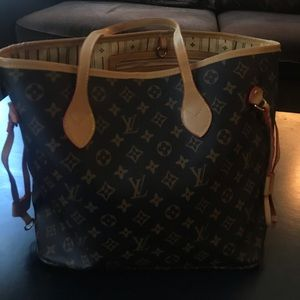 Louis Vuitton NEVERFULL GM Tote Purse
